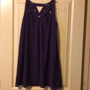 Peach Love purple dress size s